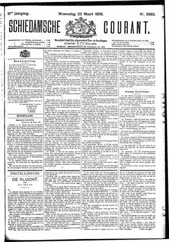 Schiedamsche Courant 1898-03-23