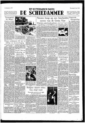 Rotterdamsch Parool / De Schiedammer 1949-06-15