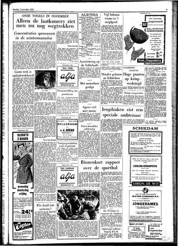 Rotterdamsch Parool / De Schiedammer 1961-11-07
