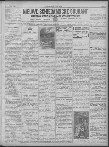 Nieuwe Schiedamsche Courant 1932-04-13