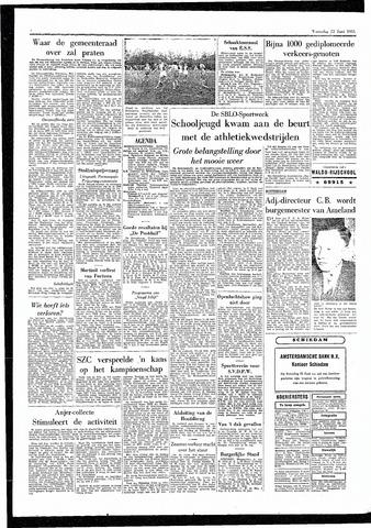 Rotterdamsch Parool / De Schiedammer 1955-06-22