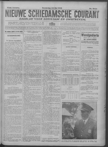 Nieuwe Schiedamsche Courant 1929-05-23