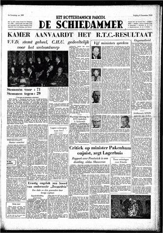 Rotterdamsch Parool / De Schiedammer 1949-12-09
