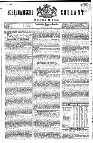Schiedamsche Courant 1862-06-09