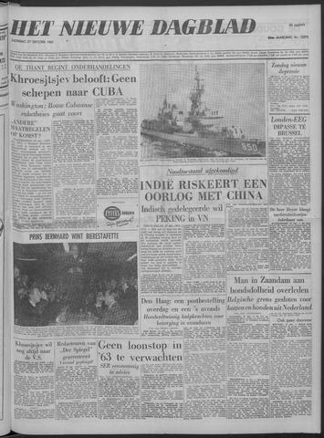 Nieuwe Schiedamsche Courant 1962-10-27