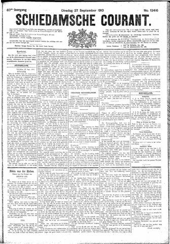 Schiedamsche Courant 1910-09-27