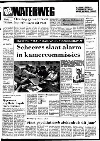 Rotterdamsch Nieuwsblad / Schiedamsche Courant / Rotterdams Dagblad / Waterweg / Algemeen Dagblad 1983-02-10