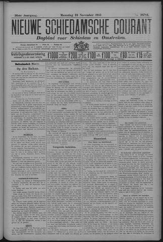 Nieuwe Schiedamsche Courant 1913-11-24