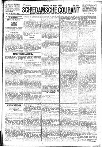 Schiedamsche Courant 1927-03-14