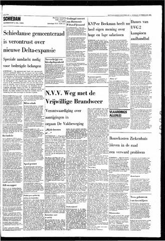Rotterdamsch Nieuwsblad / Schiedamsche Courant / Rotterdams Dagblad / Waterweg / Algemeen Dagblad 1968-02-27