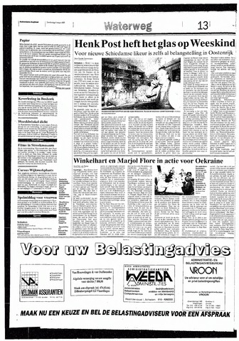 Rotterdamsch Nieuwsblad / Schiedamsche Courant / Rotterdams Dagblad / Waterweg / Algemeen Dagblad 1993-03-04