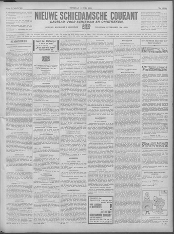 Nieuwe Schiedamsche Courant 1933-07-11
