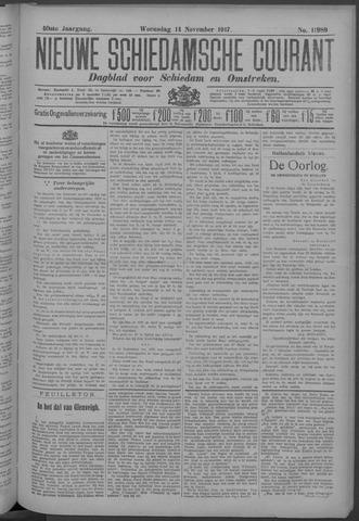 Nieuwe Schiedamsche Courant 1917-11-14