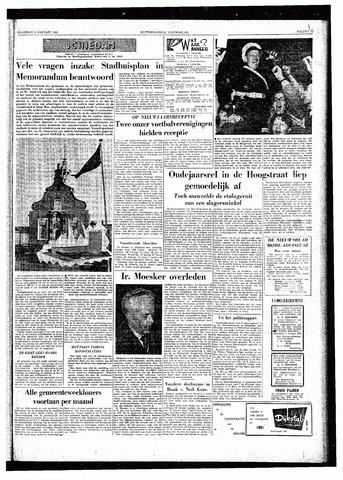 Rotterdamsch Nieuwsblad / Schiedamsche Courant / Rotterdams Dagblad / Waterweg / Algemeen Dagblad 1961