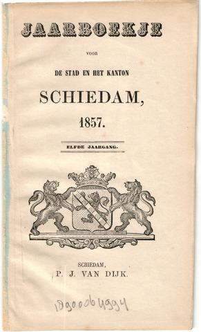 Schiedams Jaarboek 1857-01-01