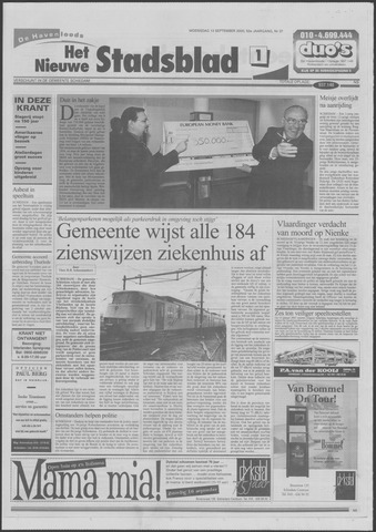 Het Nieuwe Stadsblad 2000-09-13