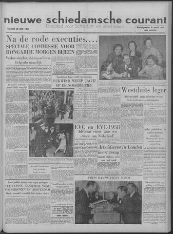 Nieuwe Schiedamsche Courant 1958-06-20