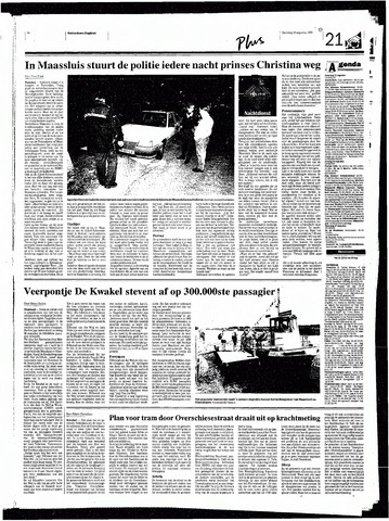 Rotterdamsch Nieuwsblad / Schiedamsche Courant / Rotterdams Dagblad / Waterweg / Algemeen Dagblad 1998-08-15