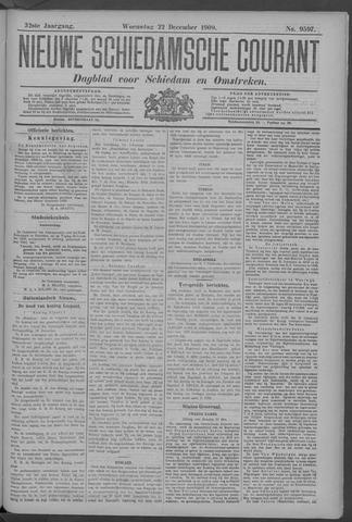Nieuwe Schiedamsche Courant 1909-12-22