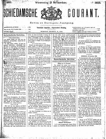 Schiedamsche Courant 1883-11-21
