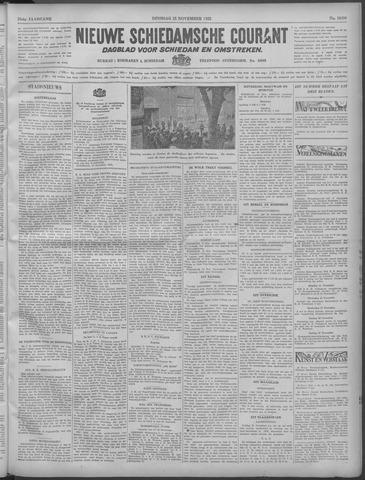 Nieuwe Schiedamsche Courant 1932-11-15