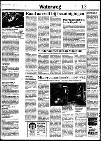 Rotterdamsch Nieuwsblad / Schiedamsche Courant / Rotterdams Dagblad / Waterweg / Algemeen Dagblad 1991-05-08