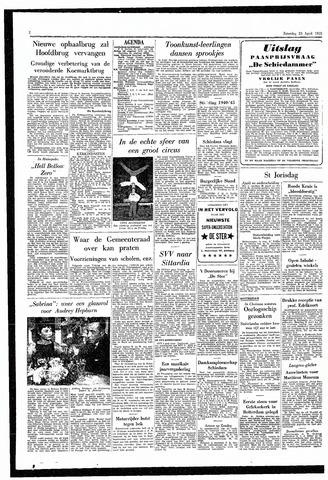 Rotterdamsch Parool / De Schiedammer 1955-04-23