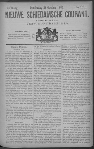 Nieuwe Schiedamsche Courant 1886-10-28