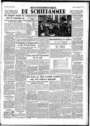 Rotterdamsch Parool / De Schiedammer 1948-04-21