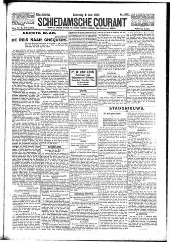 Schiedamsche Courant 1931-06-06