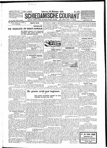 Schiedamsche Courant 1935-11-23