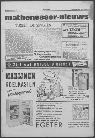 Mathenesser Nieuws 1964-06-18