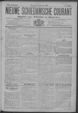 Nieuwe Schiedamsche Courant 1909-02-09