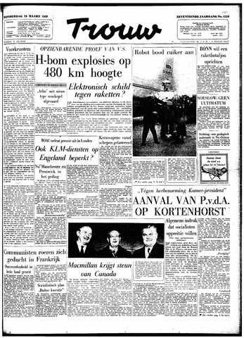 Trouw / De Rotterdammer 1959-03-19