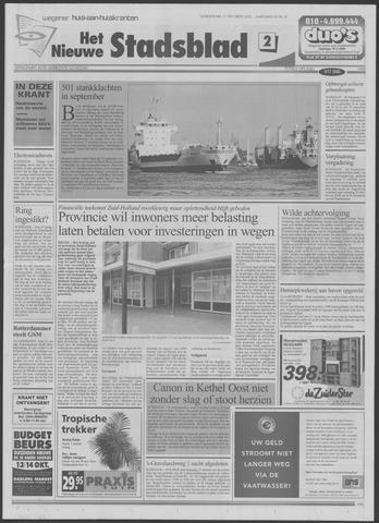 Het Nieuwe Stadsblad 2001-10-11