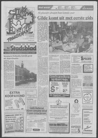 Het Nieuwe Stadsblad 1989-11-29