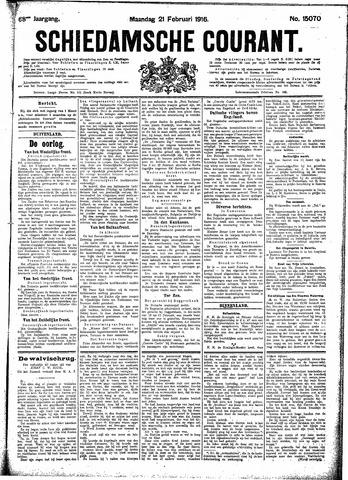 Schiedamsche Courant 1916-02-21