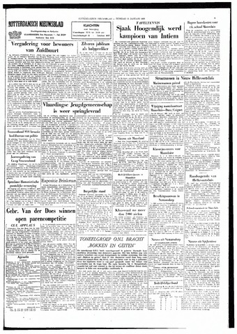 Rotterdamsch Nieuwsblad / Schiedamsche Courant / Rotterdams Dagblad / Waterweg / Algemeen Dagblad 1965-01-19