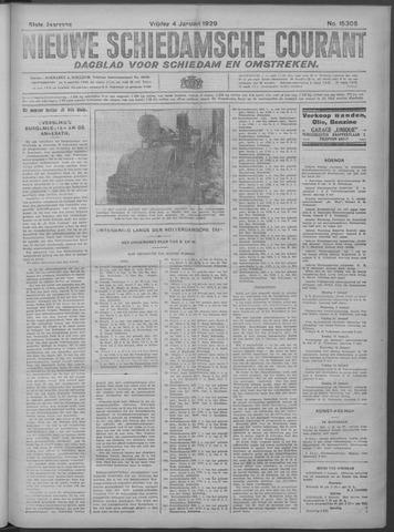 Nieuwe Schiedamsche Courant 1929-01-04