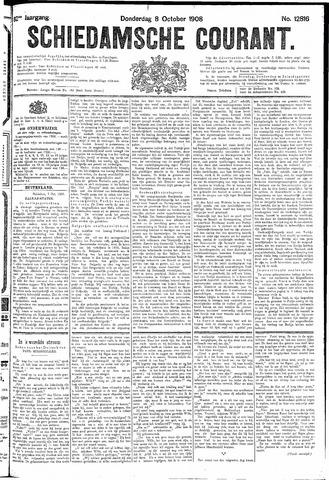 Schiedamsche Courant 1908-10-08