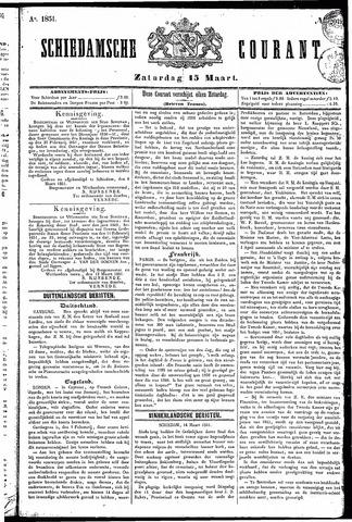 Schiedamsche Courant 1851-03-15