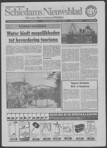 Schiedams Nieuwsblad 1983-08-03