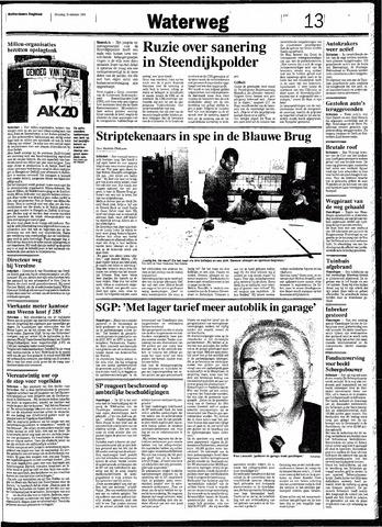 Rotterdamsch Nieuwsblad / Schiedamsche Courant / Rotterdams Dagblad / Waterweg / Algemeen Dagblad 1991-10-15
