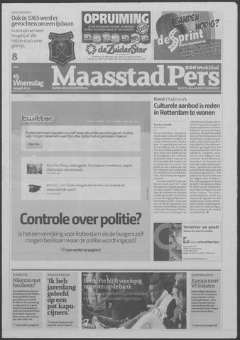 Maaspost / Maasstad / Maasstad Pers 2011-01-19