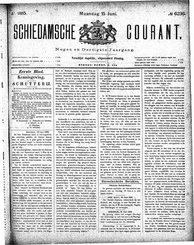 Schiedamsche Courant 1885-06-15