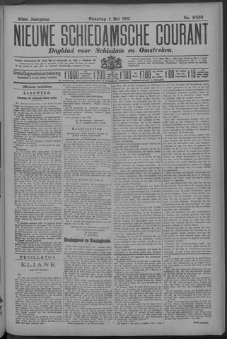 Nieuwe Schiedamsche Courant 1917-05-07