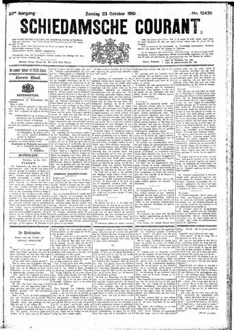 Schiedamsche Courant 1910-10-23