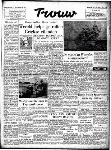 Trouw / De Rotterdammer 1953-08-15
