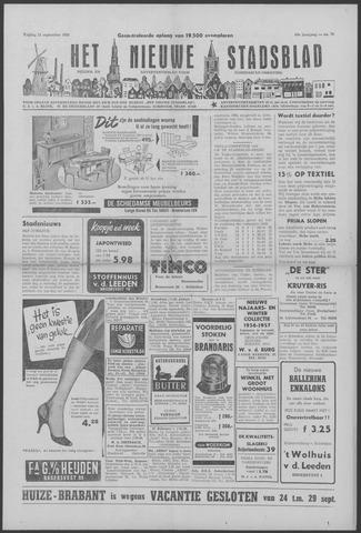 Het Nieuwe Stadsblad 1956-09-21