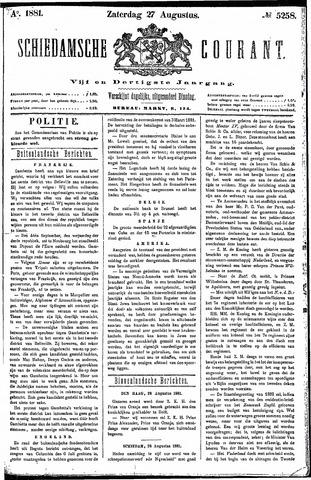 Schiedamsche Courant 1881-08-27